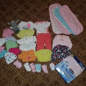 Newborn Girl (everything you need!) lot